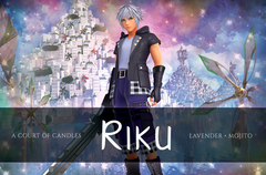 Riku - Sanctuary [KH] Limited Edition - Soy Candle
