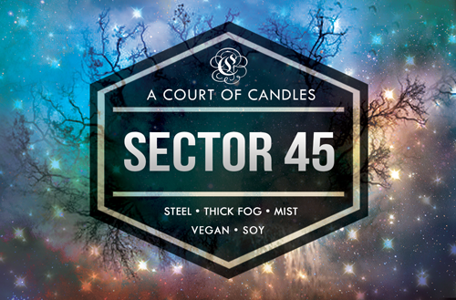 Sector 45 - Shatter Me Limited Editions - Soy Candle