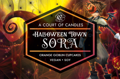 Halloween Town Sora - Soy Candle