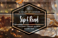 Sip & Read - Soy Candle
