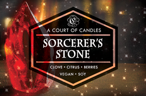 Sorcerer's Stone - Soy Candle
