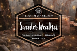 Sweater Weather - Soy Candle