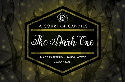The Dark One - 100% Soy Wax - A Court of Candles
