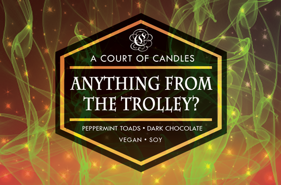 Anything From The Trolley? - Soy Wax Candle