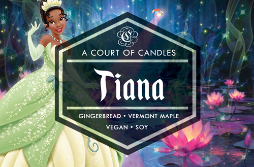 Tiana - Fairytale Princesses Limited Edition - Soy Candle