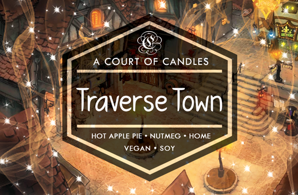 Traverse Town - Simple & Clean Box [KH] Limited Edition - Soy Candle