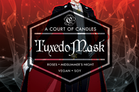 Tuxedo Mask - 100% Soy Wax - Sailor Moon - A Court of Candles