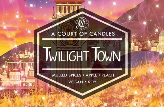 Twilight Town - Dearly Beloved [KH] Limited Edition - Soy Candle