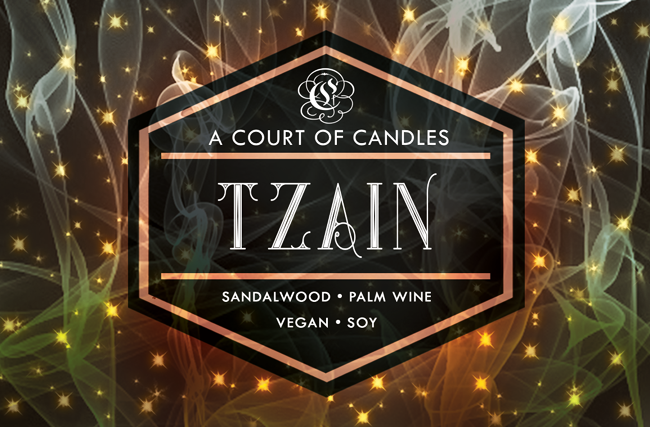 Tzain - Legacy of Orïsha - Soy Candle