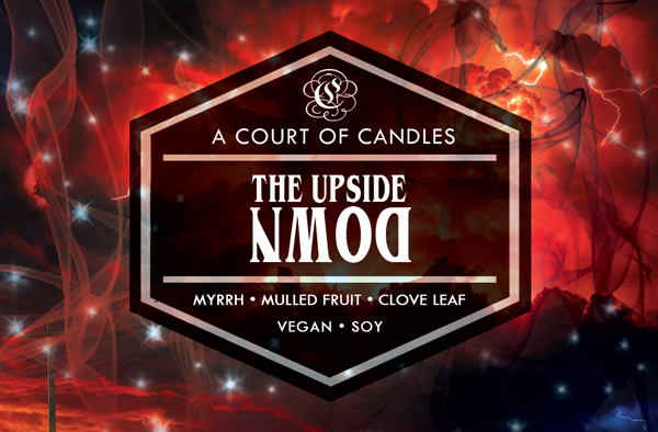 The Upside Down - Soy Candle