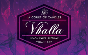 Vhalla - Soy Candle
