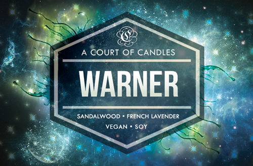 Warner - Shatter Me Limited Editions - Soy Candle