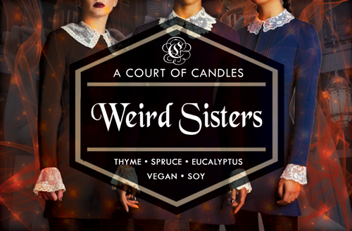 Weird Sisters - Soy Candle