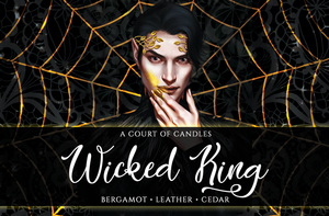 Wicked King - Art Focused Design - Soy Candle