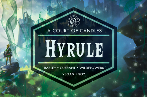 Hyrule - Gamer Collection - Soy Candle