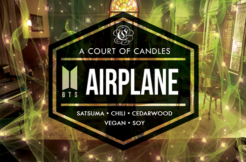 AIRPLANE [BTS]  - Soy Candle