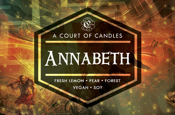 Annabeth - Half-Blood Heroes Limited Editions - Soy Candle