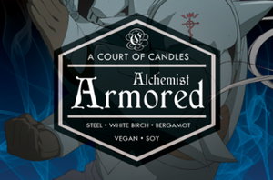 Armored Alchemist - Soy Candle - Candles