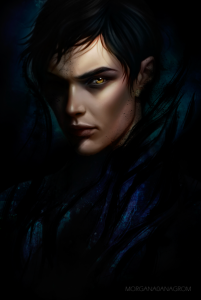 Art Print - Azriel by Salome Totladze