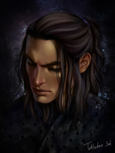 Art Print - Cassian By Salome Totladze - Art