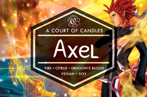 Axel - Simple & Clean Box [KH] Limited Edition - Soy Candle