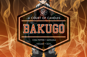 Bakugo - Soy Candle - Candles