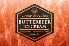 Butterbeer Icecream - Soy Candle