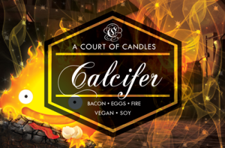 Calcifer - Soy Candle