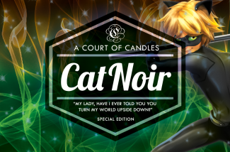 Cat Noir - Soy Candle - Candles
