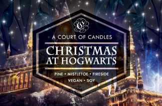 Christmas at Hogwarts - Soy Candle