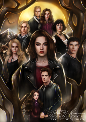 Art Print - The Cullens - Twilight - ACOC Exclusive