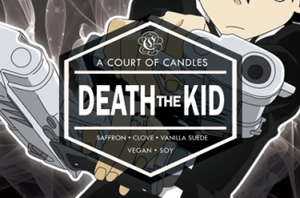 Death The Kid - Soy Candle - Candles