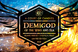 Demigod Of The Wind And Sea - Soy Candle