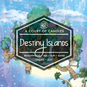Destiny Islands - Simple & Clean Box [KH] Limited Edition - Soy Candle
