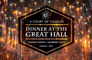 Dinner at the Great Hall - Soy Candle
