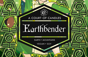 Earthbender - Soy Candle - Candles