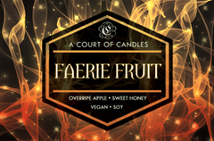 Faerie Fruit - Soy Candle