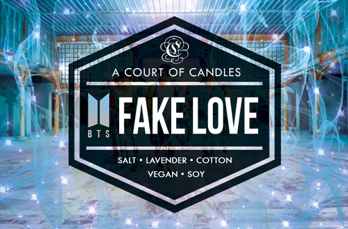 FAKE LOVE [BTS]  - Soy Candle