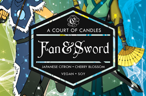 Fan & Sword - Soy Candle