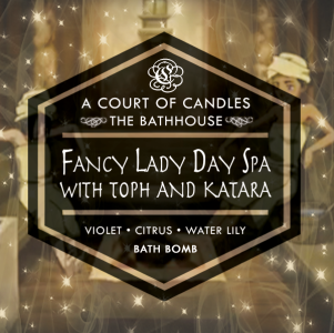 Fancy Lady Day Spa with Toph and Katara - Bath Bomb