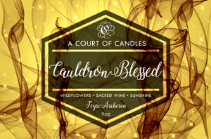 Feyre (10 Variations) - Soy Candle - Cauldron Blessed - 9Oz - Candles