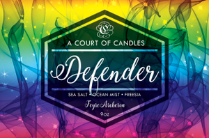 Feyre (10 Variations) - Soy Candle - Defender - 9Oz - Candles