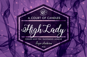 Feyre (10 Variations) - Soy Candle - High Lady - 9Oz - Candles