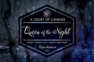 Feyre (10 Variations) - Soy Candle - Queen Of The Night - 9Oz - Candles