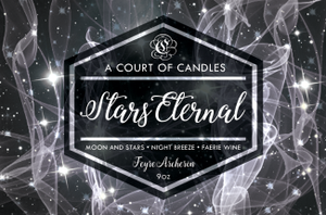 Feyre (10 Variations) - Soy Candle - Stars Eternal - 9Oz - Candles