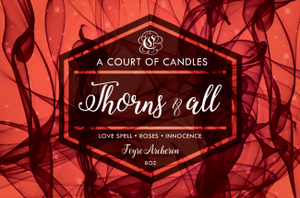 Feyre (10 Variations) - Soy Candle - Thorns & All - 9Oz - Candles
