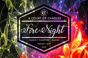 Fire Night - Soy Candle