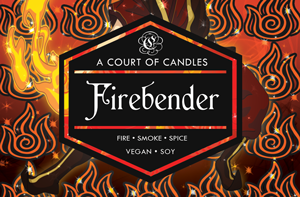 Firebender - Soy Candle - Candles