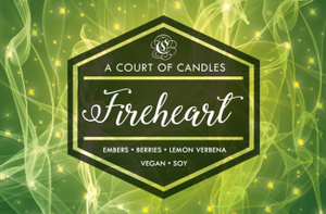 Fireheart - Soy Candle - Candles