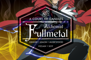 Fullmetal Alchemist - Soy Candle - Candles